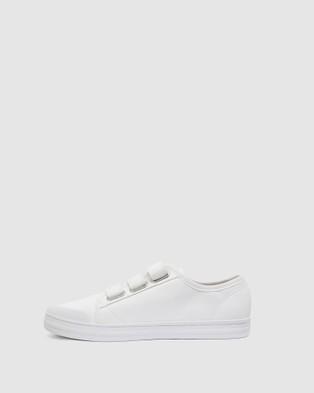 Ravella Veda - Slip-On Sneakers (WHITE)