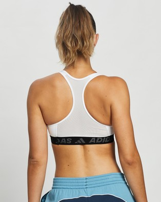 adidas Performance Don't Rest Badge of Sport Bra - Crop Tops (White & Black)
