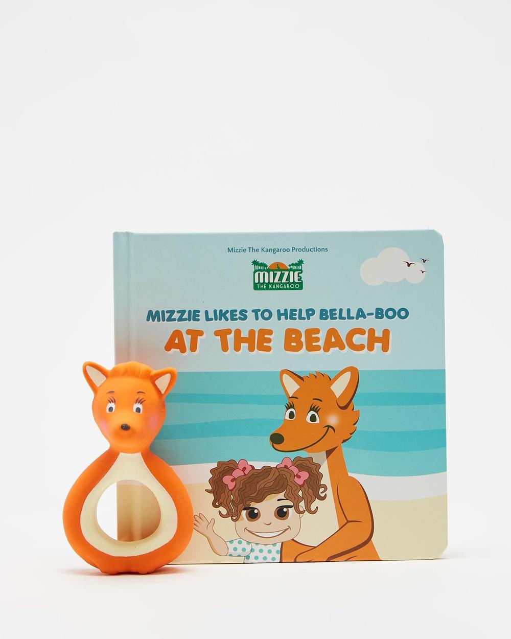Mizzie The Kangaroo Mini Reader Gift Set All toys At Beach All toys Australia