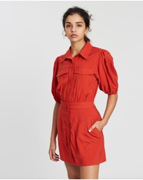 C/MEO COLLECTIVE - Explanatory SS Dress