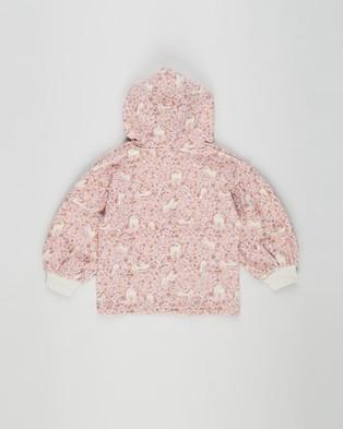 Cotton On Kids - Tilly Puff Sleeve Hoodie Teens Hoodies (Unicorn Garden) Kids-Teens