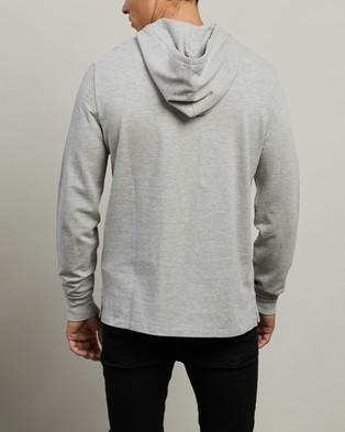 Polo Ralph Lauren ICONIC EXCLUSIVE   Long Sleeve Knit Hoodie - Hoodies (Andover Heather)