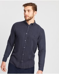 Jack & Jones - Over-Dye Button-Down Shirt