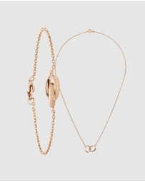 Daniel Wellington - Gift Set - Elan Unity Necklace + Elan Unity Bracelet 165mm