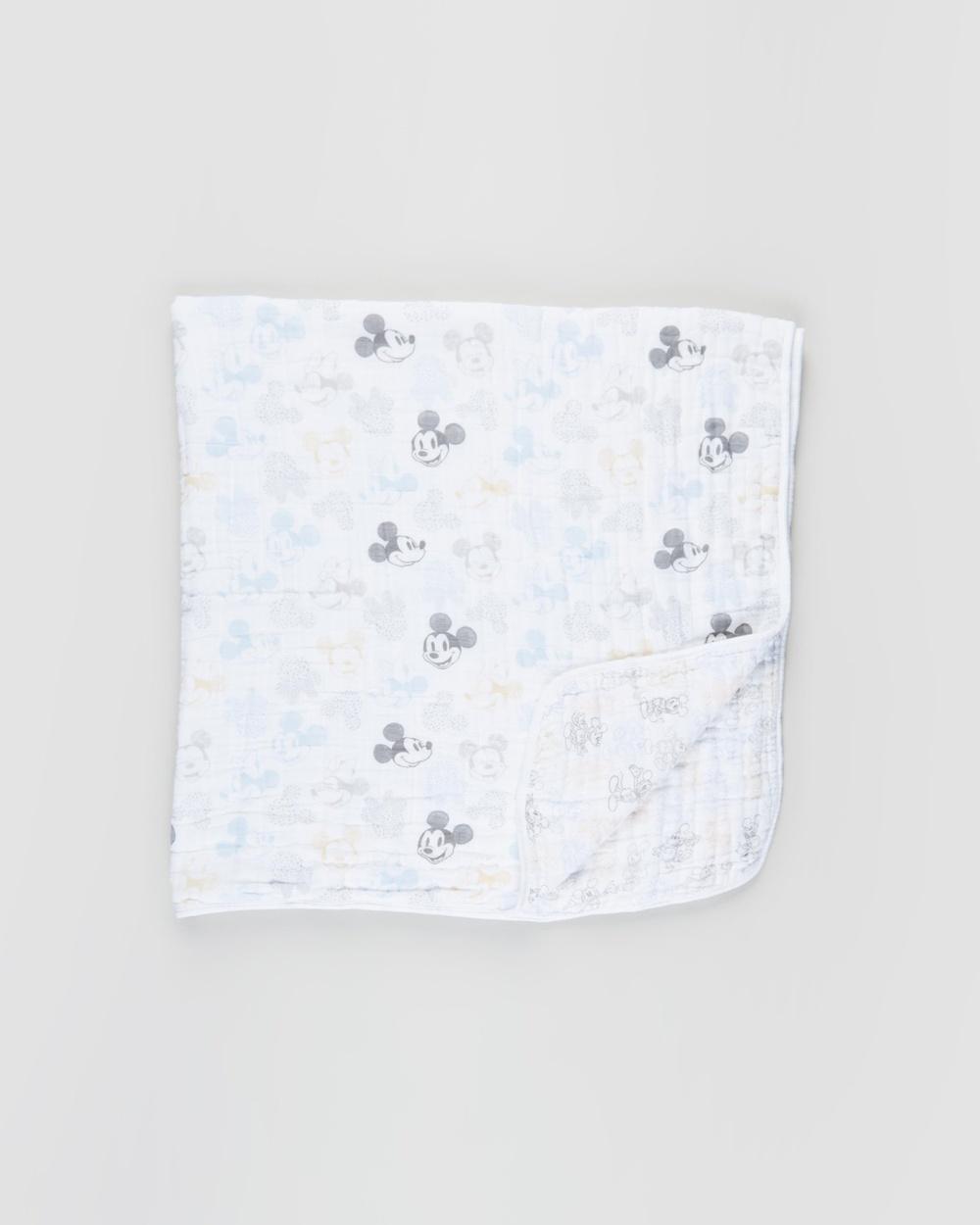Aden & Anais Classic Dream Blanket Nursery Mickey + Minnie Magic