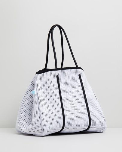 cf670e026e Luxe Punched Neoprene Tote Bag by D-LUXE Basics by Decjuba Online ...