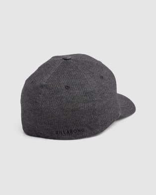 Billabong All Day Flexfit Cap - Headwear (BLACK HEATHE)