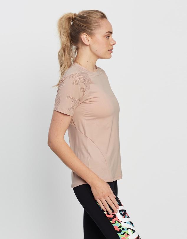 Women UA Rush Vent SS T-Shirt