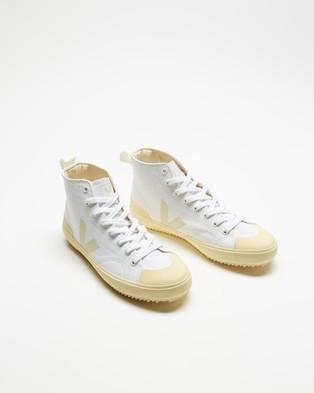 Veja Nova High Top   Men's - Sneakers (White Butter)