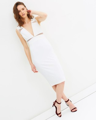 Grace Willow – Louise Dress White