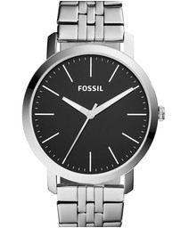 Fossil - Luther 3H Silver-Tone Analogue Watch BQ2312I