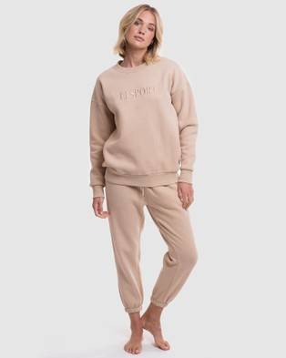 TJ SWIM The Dylan Sweater - Jumpers (Nude)