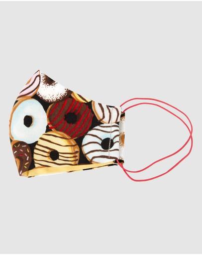Cupid's Millinery Reusable Cotton Face Mask Orange
