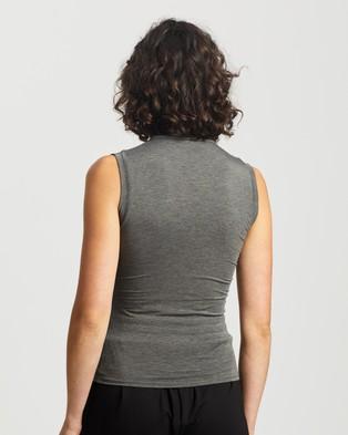 M.N.G Elsa T Shirt - Tops (Medium Grey)