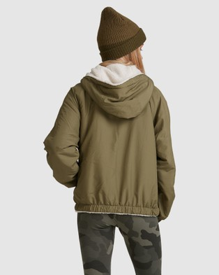 Billabong Boundary Reversible Jacket - Coats & Jackets (ARMY)