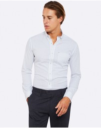Oxford - Stratton Chest Pocket Printed Shirt