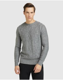 Oxford - Beckett Cable Donegal Knit