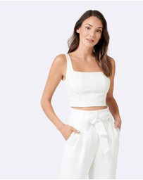 Forever New - Carly Square Neck Fitted Crop