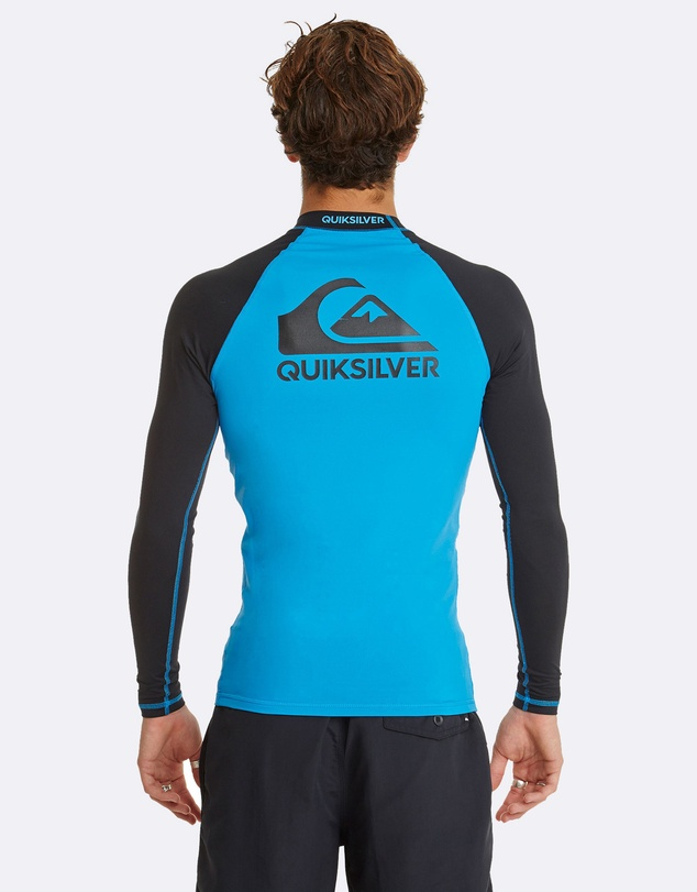 Quiksilver - Mens On Tour Long Sleeve UPF 50 Rashguard