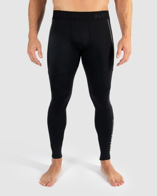 Muscle Republic Dark Knight Compression Tights - Track Pants (Black)