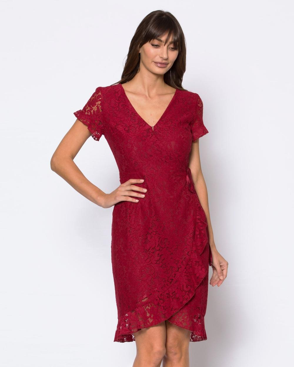 Alannah Hill Red Strawberry Daiquiri Dress
