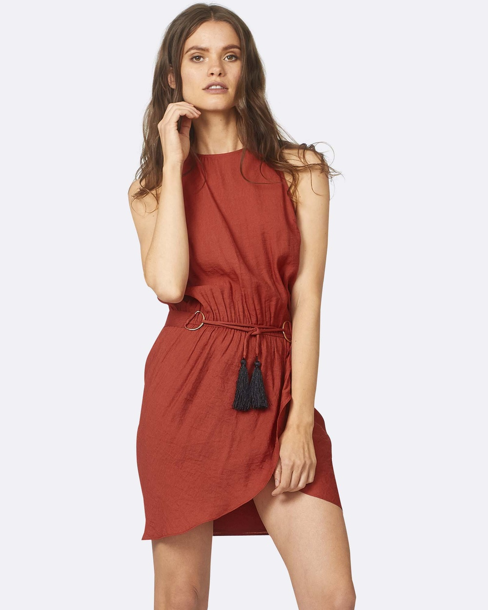 Three of Something Desert Dress Dresses Burgundy Desert Dress