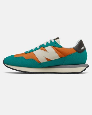 New Balance 237 Standard Fit Men's Low Top Sneakers Vintage Orange