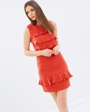 Whistles – Bea Frill Front Dress