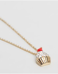 Mestige Kids - Cupcake Necklace With Swarovski Crystals
