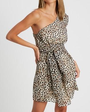 BWLDR Coda Mini Dress - Dresses (Leopard)