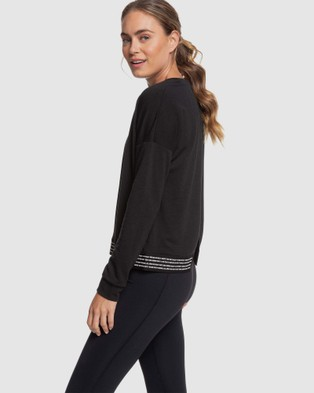 Roxy - Womens Lost In Time Jumper - Jumpers & Cardigans (Anthracite) Womens Lost In Time Jumper