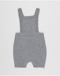 Purebaby - Knitted Overalls - Babies