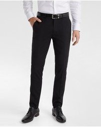 yd. - Aston Skinny Fit Dress Pants