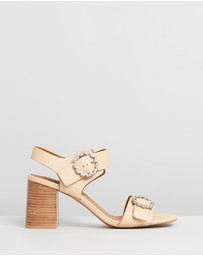 See By Chloé - Stacked Block Heel Sandals