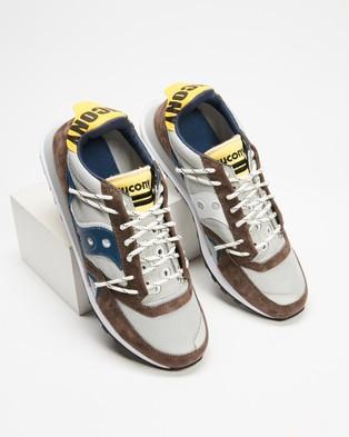 Saucony JAZZ DST   Men's - Lifestyle Sneakers (Grey & Navy)