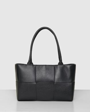 BEE The Daffodil Tote Bag Handbags Black
