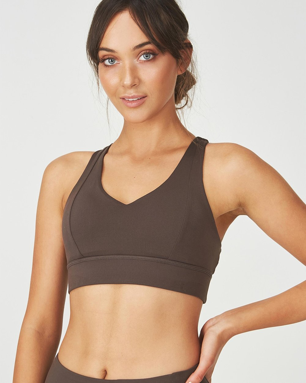 943a81b2a1cab Tempo Spliced Sports Crop by Cotton On Body Active Online