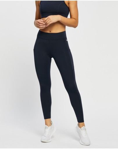 Running Bare - Ab Waisted Flex Zone Full Length Tights