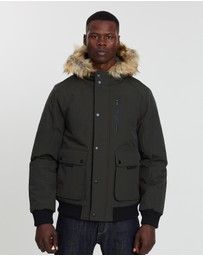 Burton Menswear - Short Parka Jacket