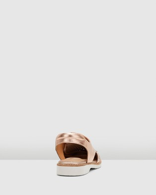 Hush Puppies Darcey - Casual Shoes (Rose Gold Metallic)