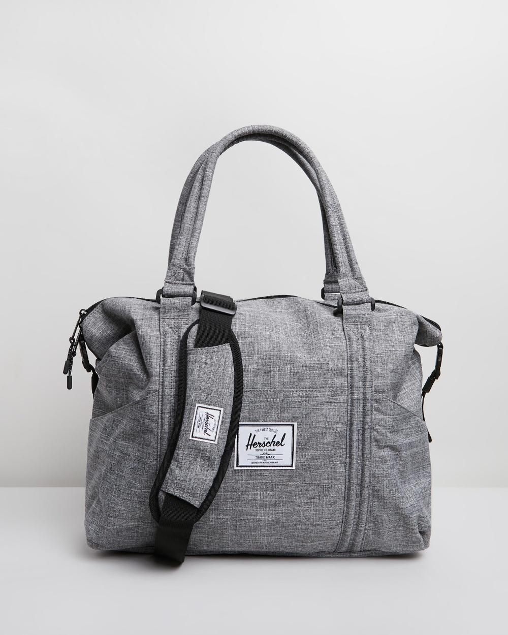 Herschel Strand Sprout Bag Bags Raven Crosshatch