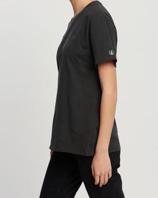 Volcom Pigment Wash Tee - T-Shirts & Singlets (Black)
