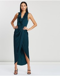 Shona Joy - Plunge Frill Dress