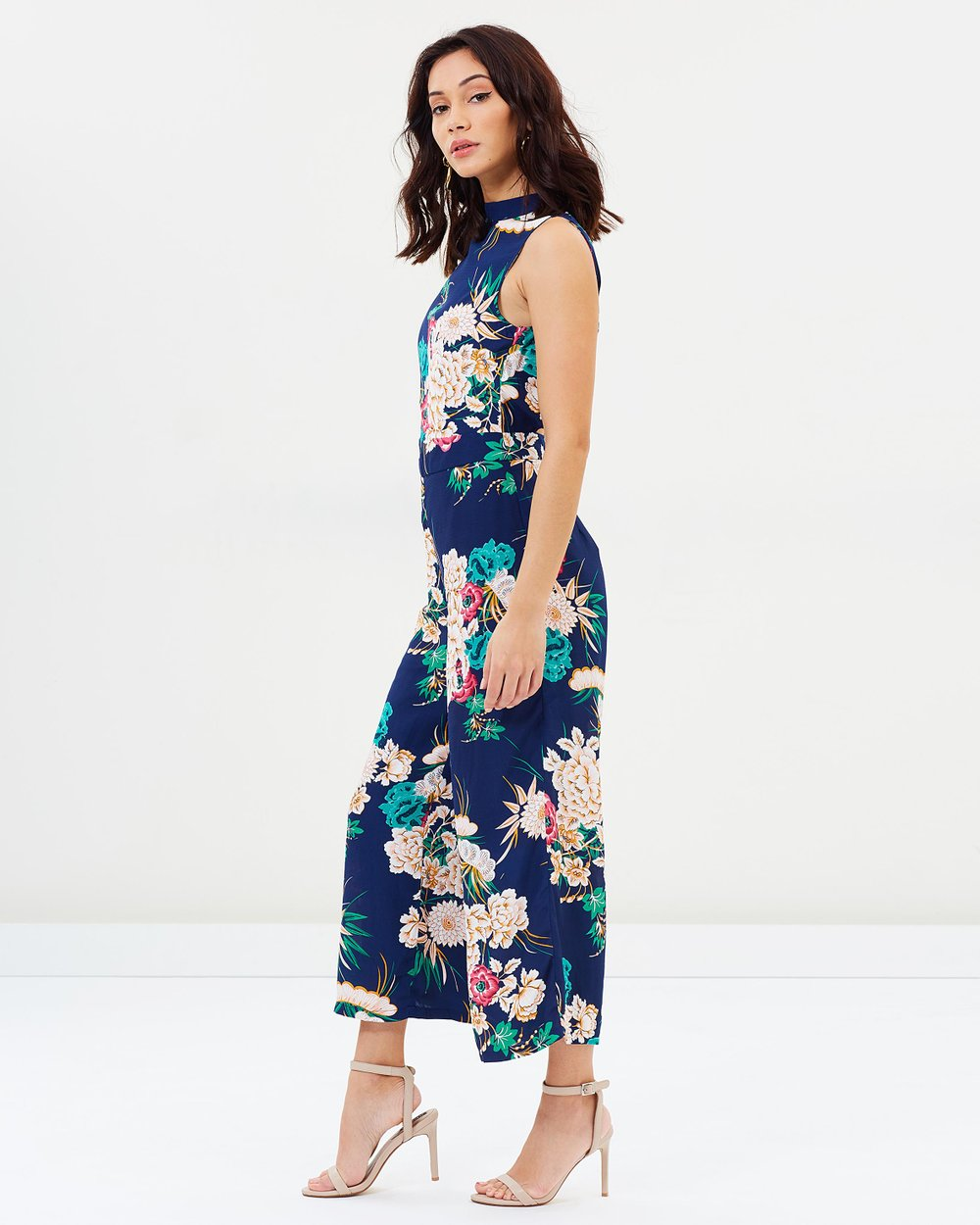 fa947655e5bb Floral Jumpsuit by Missguided Online