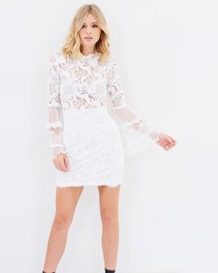 Lioness – Chancellor Lace Dress – Dresses (White Lace)