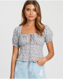 Calli - Parker Ruched Top