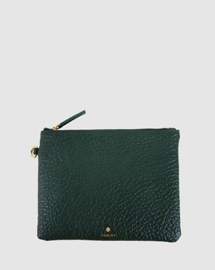 FAIRLEY Clutch Bag - Clutches (Dark Green)