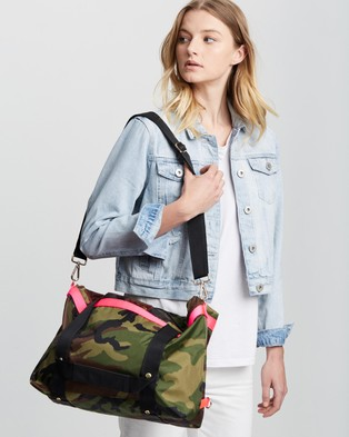 ANDI New York - The Andi - Backpacks (Camo with Pink) The Andi