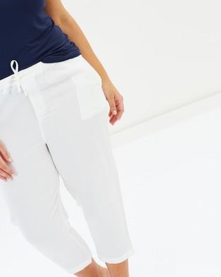 Advocado Plus Relaxed 7 8th Pants - Pants (White)