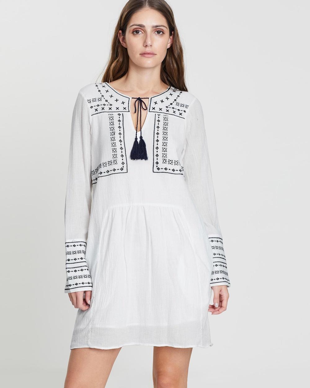 Elwood White Mon Dress